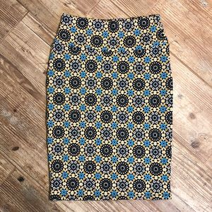 LulaRoe Stretch Pencil Skirt. Perfect Condition.